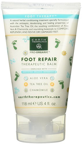 Earth Therapeutics Foot Repair Balm 4 oz by Earth Therapeutics