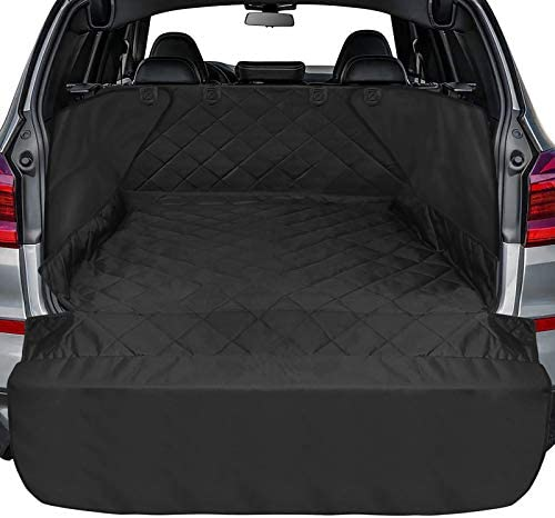 Ace Teah Cargo Liner for SUV Waterproof Dog Cargo Cover with Side and Bumper Flap Universal product image