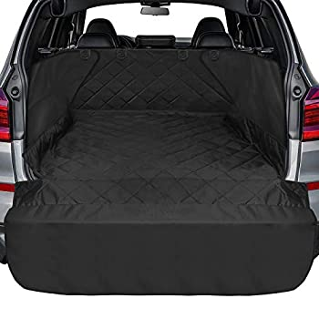 Ace Teah Cargo Liner for SUV Water Resistant Dog Cargo Cover with Side and Bumper Flap Universal Fit for Any Pet Animal