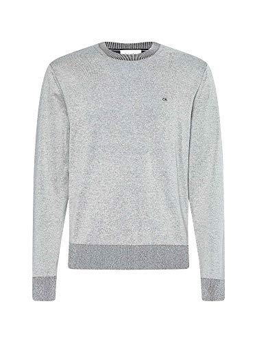 Calvin Klein - Jersey para hombre, Art K10K104920 AEV, color fotográfico, tamaño a elegir crema XXL