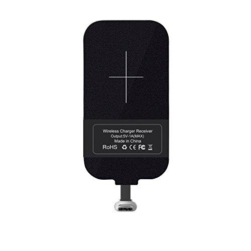 Nillkin スマホ対応ワイヤレス充電レシーバーシート アダプタ 置くだけで充電 Qi(チー) 規格 Lightning USB...