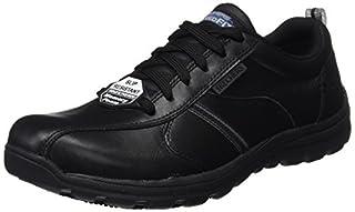 Skechers Men's Hobbes-Frat Casual Lace Up Shoes, Black (Blk), 10.5 UK 45 1/2 EU (B01N0ICXKH)   Amazon price tracker / tracking, Amazon price history charts, Amazon price watches, Amazon price drop alerts