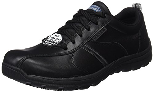 Skechers Men's Hobbes-Frat Safety Shoes, Black (Blk), 10 UK 45 EU