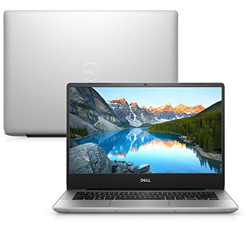 Notebook Dell Inspiron 14 5000, i14-5480-A40S, 8ª Geração Intel Core i7-8565U, 16 GB RAM, HD 1TB + 128GB SSD, NVIDIA® GeForce® MX150 2GB GDDR5, Tela 14' LED Full HD IPS, Windows 10, Prata