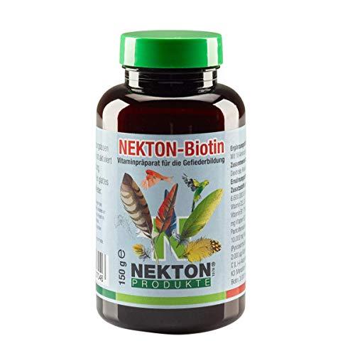 Nekton Biotin - Vitaminpräparat zur Gefiederbildung für alle Vögel (150g)