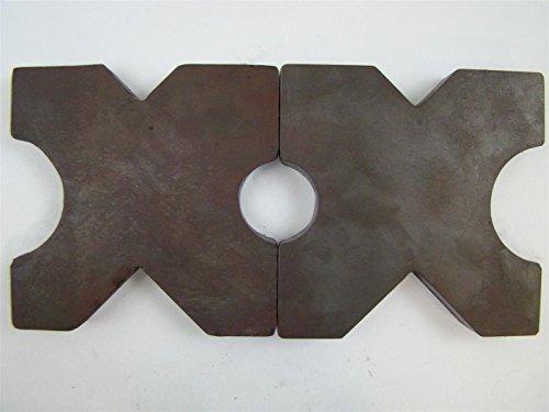 (PAIR) 7x7 Arbor Plates 1