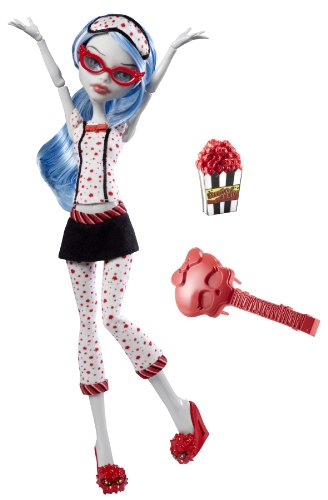 Mattel V7973 - Monster High Puppe Ghoulia Yelps, Tochter der Zombies