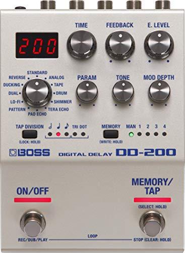 Boss DD 200 Pedale Delay Digitale