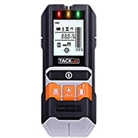 Tacklife 5-in-1 Multi-Functional Stud Finder with LCD Display