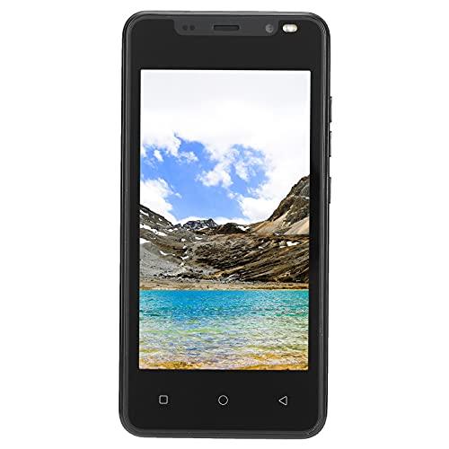 Smartphone IP12 PRO, Supporto per Cellulare con Display HD da 4,66 Pollici Dual Card Dual Standby, Telefono con Fotocamera da 2 MP (512 MB + 4 GB) Scheda di Memoria Aggiuntiva da 128 GB(Nero)