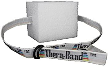 TheraBand Swim Belt with Buoyancy Foam, Aquatic Training and Exercise Equipment for Entry Level Swim Training and Lessons, Childrens Float Belt, Swimming Aid for Kids, Pool Jogging Belt, Tadpole