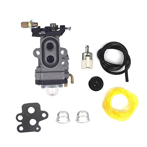 HQParts Carburetor & Gasker & Fuel Line Filter compatible with RedMax BCZ2500S BCZ2460S BCZ2600S BCZ2600 BCZ2600SU BCZ2600SW HBZ2601 Carby String Trimmer