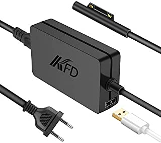 KFD 65W 15V 4A Power Supply Charger oplaadkabel voor Microsoft Surface Pro 7, Surface Laptop 3, Surface Book, Surface Pro ...