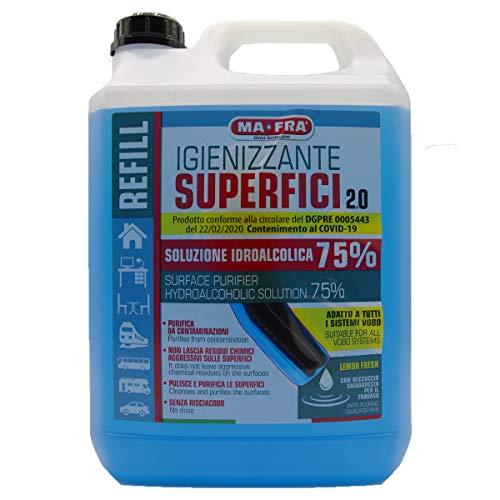 Igienizzante Superfici 2.0 Alcolico 5lt Ma-Fra Conforme DGPRE 0005443