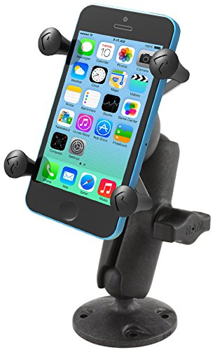 RAM X-Grip High-Strength Composite Phone Mount with Drill-Down Base