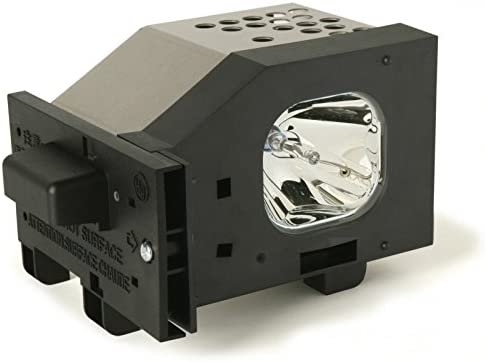 Replacement Lamp for Panasonic PT-50LC13 Projector TV Assembly with OEM Bulb and Original Housing