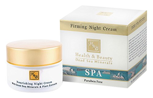 Firming Face Night Cream - Organic Moisturizer for Women 50ml by Health and Beauty Dead Sea