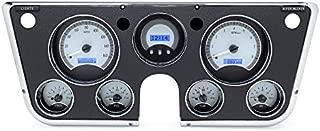 Dakota Digital 1967-73 Chevy Truck VHX System, Silver Face - Blue Display