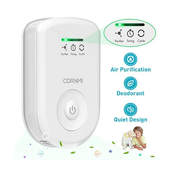 Air Purifiers Plug In for Home, Mini Odor Eliminator丨Ozone Negative Ion Dual Function丨Ionizer...