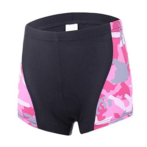 KHHK MTB Gel Riding Shorts Ropa Interior de Ciclismo Pantalones de Ciclismo Acolchados para Mujer