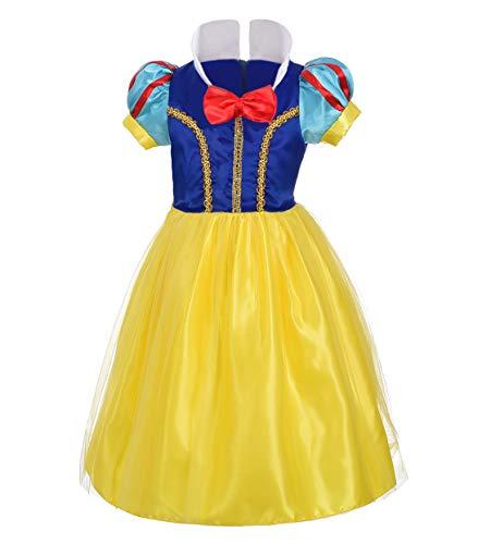 Lito Angels Niñas Bebé Disfraz de Princesa Blancanieves Fiesta de Halloween Disfraces Talla 12-18 Meses B