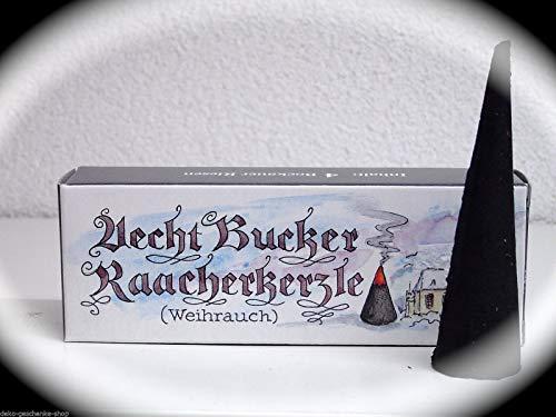 Bucker Original Raacherkerzle Riesen Räucherkerzen Räucherkegel Weihrauch