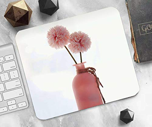 Optimized for Gaming sensors Pink Bottle Gaming Mouse pad Ergonomics Rubber Printing High-Performance Mouse pad Made of Neoprene Home Office Supplies ✓