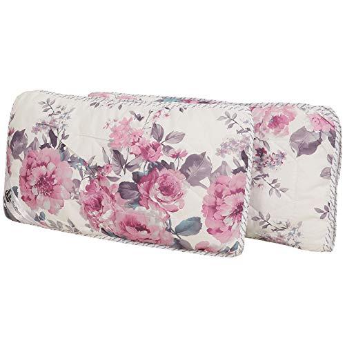 Stoffhanse Kissen 40 x 80 cm, 2er Set floral | Bettwaren | Kopf-Kissen | nach Öko-Tex Standard