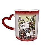 Moomin Merch, tazza da tè e caffè, termosensibile, colore attivato, cambia colore
