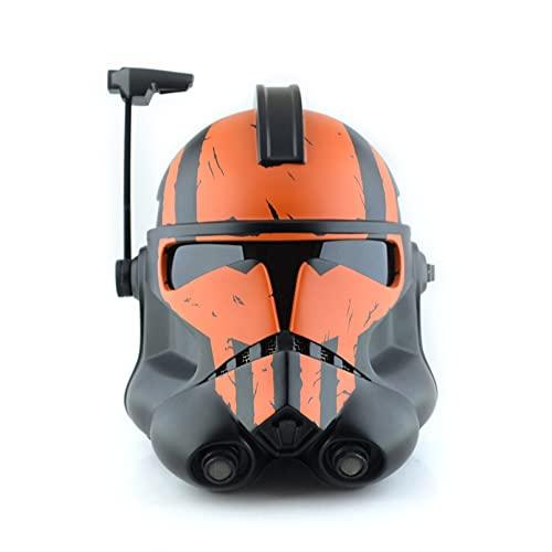 FMBK666 Casco Stormtrooper Star Wars Full Face Latex Mask Cosplay Prop Blacksmith Latex Helmet per Halloween Cosplay Adult Collectible