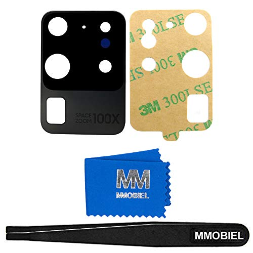 MMOBIEL Back Rear Camera Glass Lens Replacement Compatible with Samsung Galaxy S20 Ultra SM G988 6.9 inch 2020