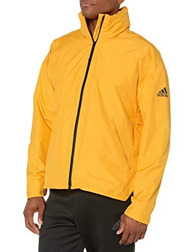 adidas Outdoor Urban Climaproof - Chubasquero para hombre, color dorado activo, XL