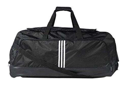 adidas Travel Tourney Bolsa de Viaje, 80 cm, Negro