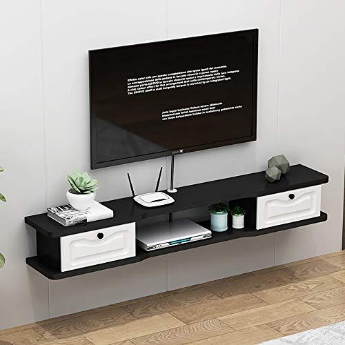 Mueble de TV Mesa Flotante,Unidad de TV Flotante Duradero Y Protector,Mueble de TV flotante Multifuncional para la Sala de Estar Del Dormitorio Del Hogar/C/Los 140CM