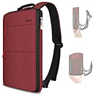 Slim & Expandable Design: Slim style for light travel and commute, 200% Expandability when more belongings and easily to switch between the both. Serve you well as professional office work laptop case, slim USB charging bagpack, college high school b...