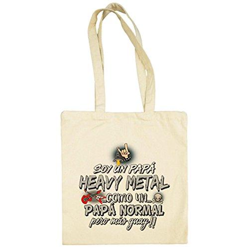 Tote Bag Shopping Bag 100/% algod/ón Negro LaMAGLIERIA Bolsa de Tela Motorhead