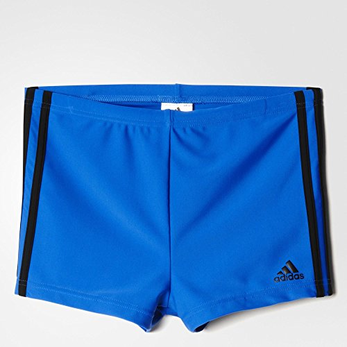adidas Herren Badehose Boxen INFinitex 3 Stripes, Blue/Black, 4