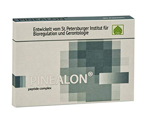 Pinealon – amino acid peptide complex derived from brain tissue 20 capsules