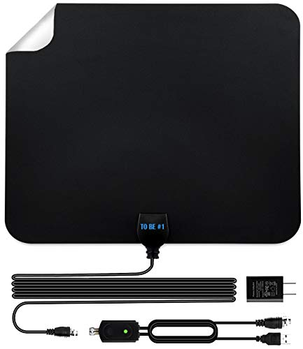 Latest 2020 Amplified HD Digital TV Antenna Long 200 Miles Range,...