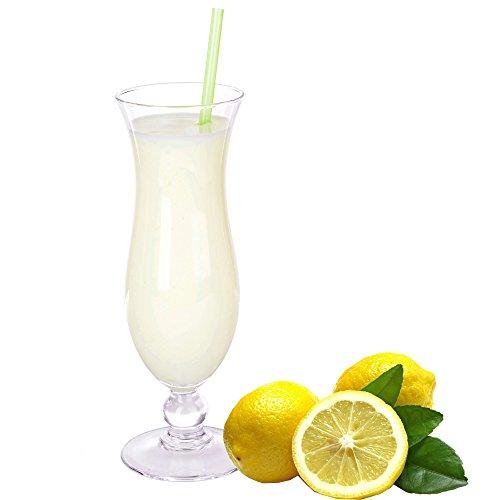 Zitrone Molkepulver Luxofit mit L-Carnitin Protein angereichert Wellnessdrink Aspartamfrei Molke (Zitrone, 1 kg)