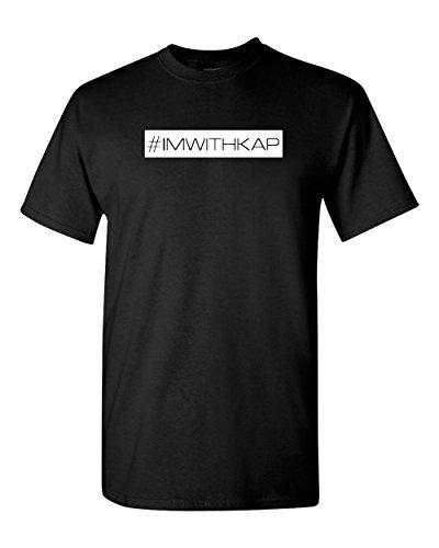 IM WITH KAP T Shirt Social Justice Colin Kaepernick tees NYPD Serpico #imwithkap (XL, Black)