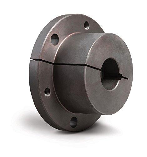 TB Woods Type F FM50MM Sure-Grip Bushing, Metric, 50 mm Bore, 112.7 mm OD, 92.1 mm Length, 4519 lbs/in Torque, Standard Design, Standard Keyway