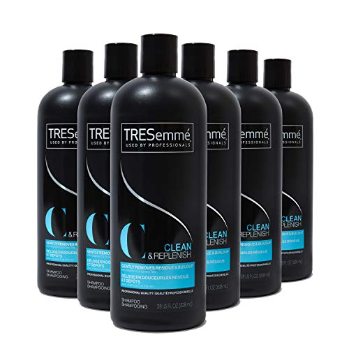 TRESemmé Cleansing Shampoo for Daily Use, Clean and Replenish Vitamin...