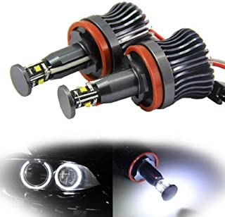 iJDMTOY 360-Degree Xenon White CREE 20W High Power H8 LED Angel Eyes for BMW E60 E61 E90 E92 E70 E71 E82 E89 1 3 5 Series X5 X6 Z4