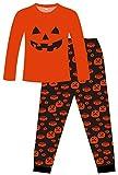 Pijama largo unisex de algodón para Halloween