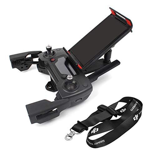 iEago RC Soporte frontal ajustable para teléfono móvil y tablet con mando de cuello Lanyard para DJI Spark, Mavic Pro, Air