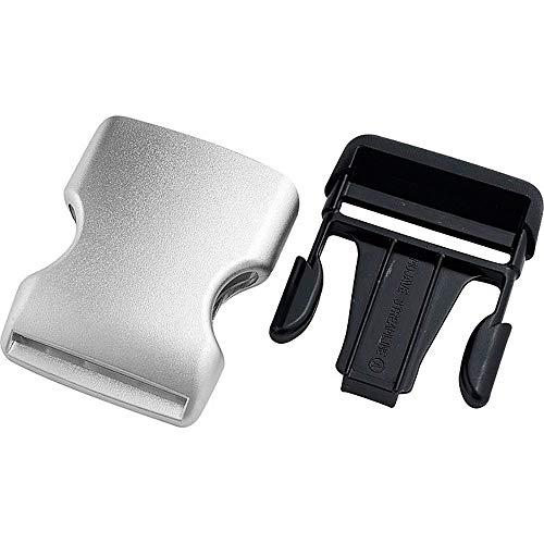 Polo Belt Buckle Silver Look 40 mm