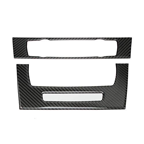 TPHJRM Accesorios de Coche Interior de Fibra de Carbono Aire Acondicionado Panel...