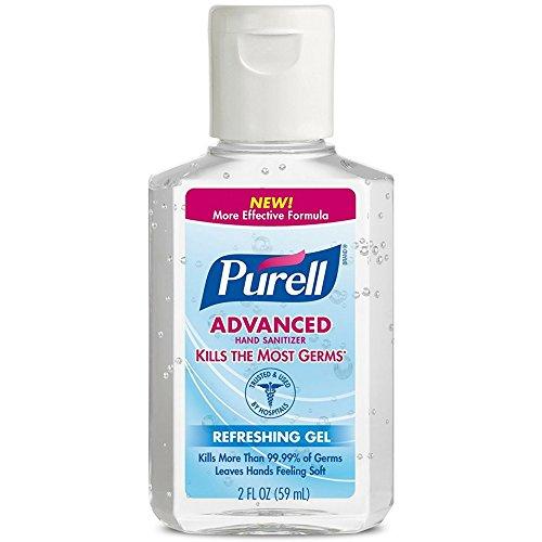 Purell Advanced Hand Sanitizer Refreshing Gel 2 oz (Pack of 6)