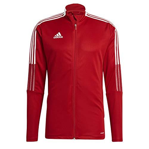 adidas GM7308 TIRO21 TK JKT Jacket Mens Team Power Red 4XL